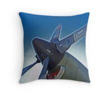 Propeller at Cambridge Throw Pillow