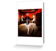 High Fashion Madness Fine Art Print Greeting Card