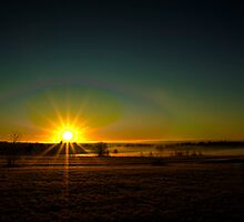 Misty Sunrise by BigD