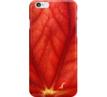 Under Shades of Red iPhone Case/Skin