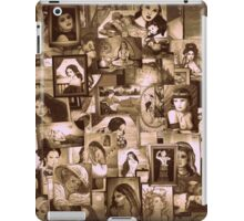 """collage of my art """" in seppia """"  iPad Case/Skin"""