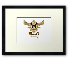 Paxton Rome - League of Legends Wood V Framed Print