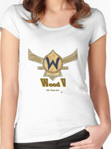 Paxton Rome - League of Legends Wood V Women's Fitted Scoop T-Shirt