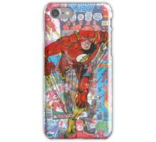 Vintage Comic Flash iPhone Case/Skin