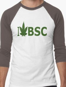 I Love BSC Men's Baseball ¾ T-Shirt