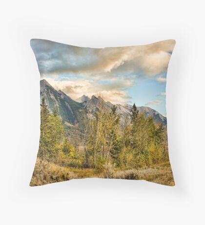 The Icefield Parkway Throw Pillow