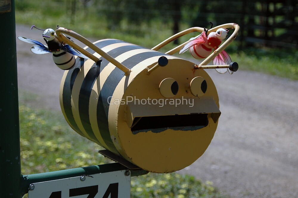 Bee Mail - NSW by CasPhotography