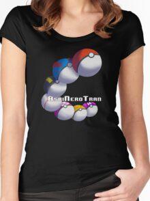 Poke Ball Branded Merchandise Women's Fitted Scoop T-Shirt