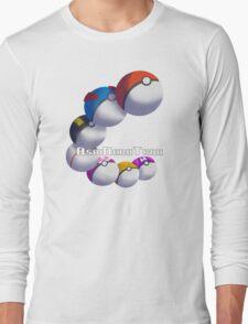 Poke Ball Branded Merchandise Long Sleeve T-Shirt