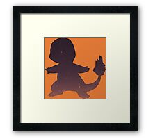 Pokemon - Space Charmander Design Framed Print