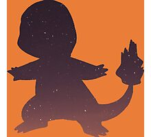 Pokemon - Space Charmander Design Photographic Print