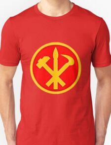 Workers Party of Korea emblem symbol Unisex T-Shirt
