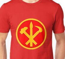 Workers Party of Korea emblem symbol Unisex T-Shirt