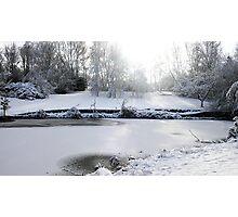 Winters Walk Photographic Print