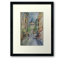 Galata Tower 6 Framed Print