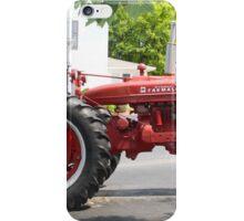 ANTIQUE FARMALL TRACTOR iPhone Case/Skin