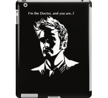 Tenth Doctor Who iPad Case/Skin