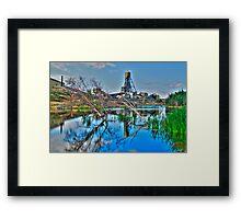 The Giant Mine Framed Print