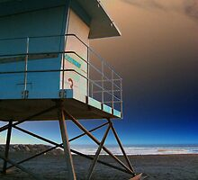 The Life Guard Tower by mAriO vAllejO