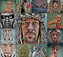 My the best self portraits in 2009 by makbet666