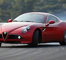 The Alfa Romeo 8C by M-Pics