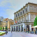 Madrid - Plaza de Oriente. Teatro Real. by josemazcona