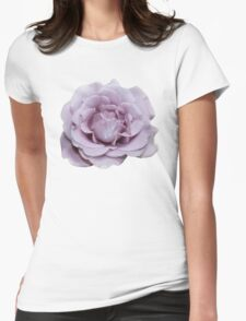 Lilac Garden Rose - Hipster/Pretty/Trendy Flowers Womens Fitted T-Shirt
