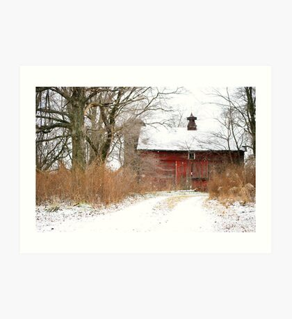 Yankee Road Barn Art Print