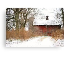 Yankee Road Barn Canvas Print
