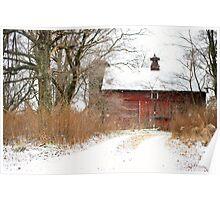 Yankee Road Barn Poster