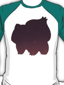 Pokemon - Space Bulbasaur Design T-Shirt