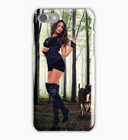 High Fashion Wood Fine Art Print iPhone Case/Skin