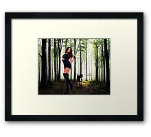High Fashion Wood Fine Art Print Framed Print