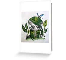 Leaf Her Alone Greeting Card