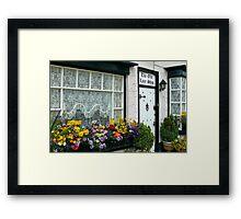 The Old Lace Shop ~ Beer, Devon Framed Print