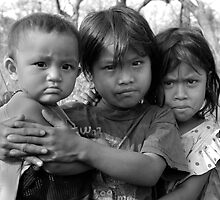 Cambodian Girls by Mick Yates