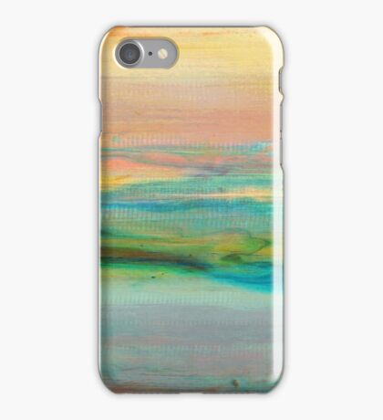 Sky Layers - Abstract Landscape iPhone Case/Skin