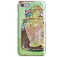 Figure In A Container iPhone Case/Skin