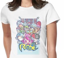 [ROSE] Heroes and Monsters Womens Fitted T-Shirt