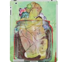 Figure In A Container iPad Case/Skin