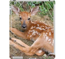 Adorable Little Visitor iPad Case/Skin