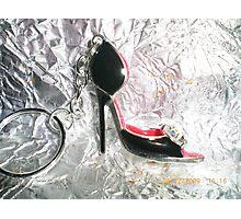 Lovely shoe keyring, Photographic Print