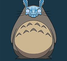 Donnie Darko Totoro by crabro