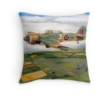 Martinet, Target towing  Throw Pillow