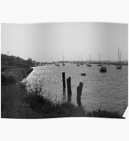The River Crouch Poster
