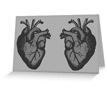 I <3 <3 The Doctor Greeting Card