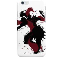 Shaco Ink Black iPhone Case/Skin