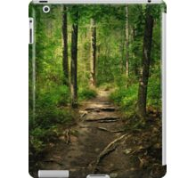 The Hidden Trails of the Old Forests iPad Case/Skin