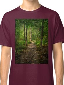 The Hidden Trails of the Old Forests Classic T-Shirt