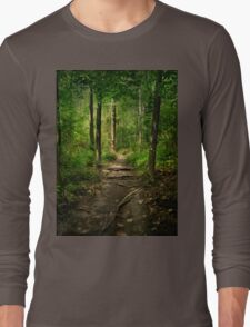 The Hidden Trails of the Old Forests Long Sleeve T-Shirt